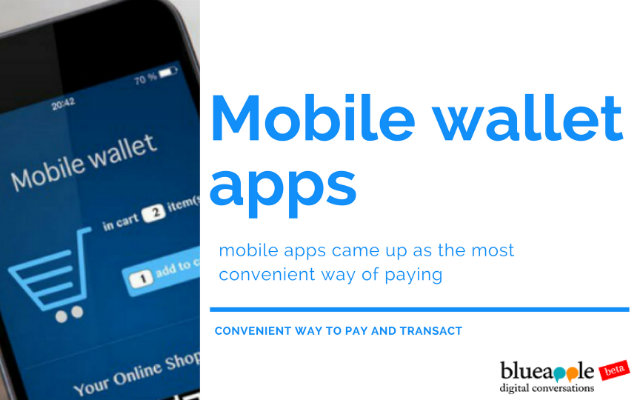 Mobile wallet apps